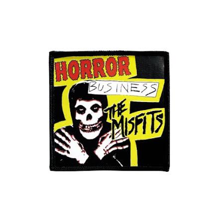 Misfits - Horror - Tygmärke