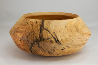 "Photo: Richard Webster 12"" x 4"" bowl [hackberry]"