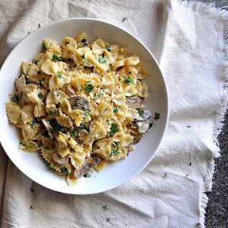 Mushroom Gruyere Pasta