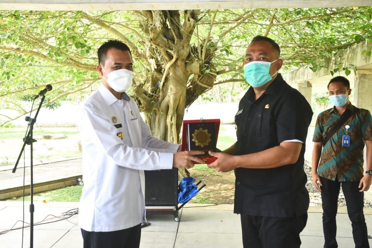 Menerima Audiensi dan Koordinasi Kantor Wilayah Kementerian Hukum dan HAM Lampung