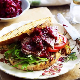 Caramelised Onion And Beetroot Relish.