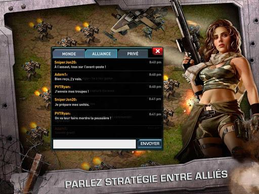 WAR OF NATIONS: LE PvP ÉPIQUE  captures d'écran 4