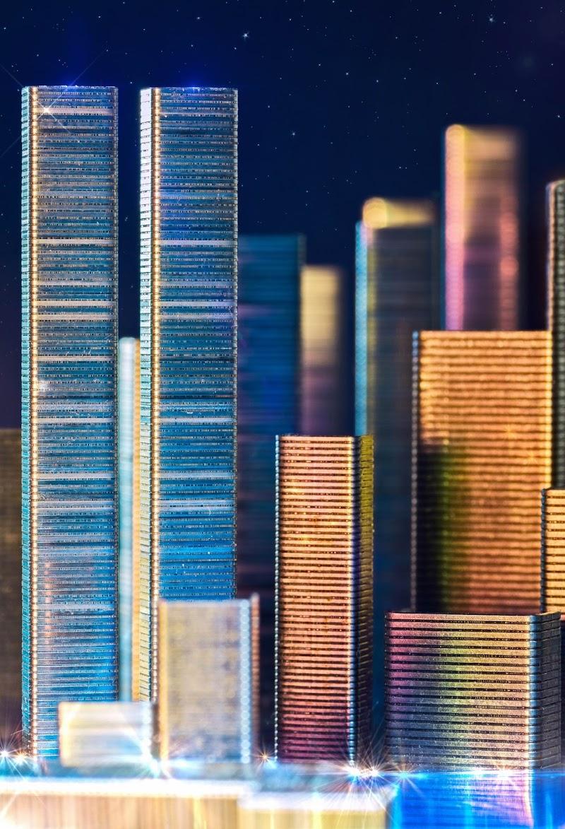 Da piccoli oggetti a grandi città di ENZOART