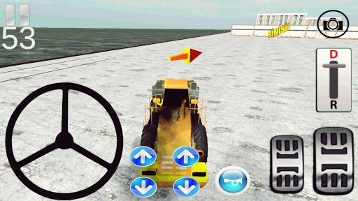 Buldozer Simülasyon 3D