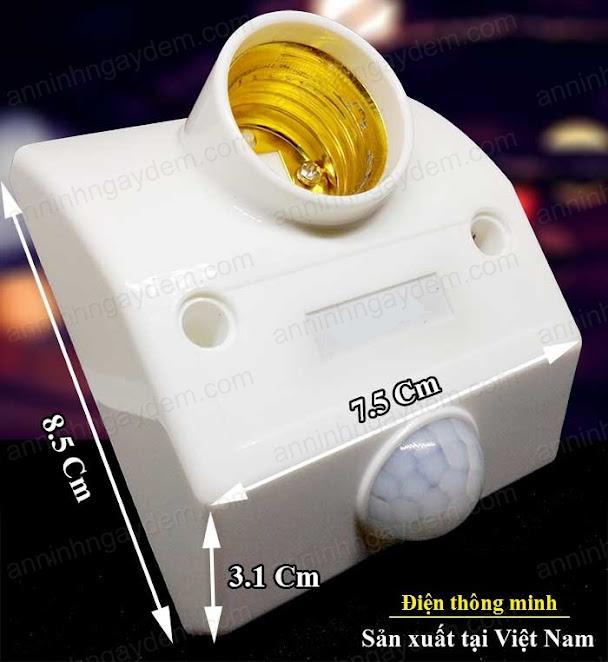 Đui đèn cảm ứng chuyển động
