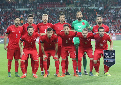 La Turquie a son maillot pout l'Euro
