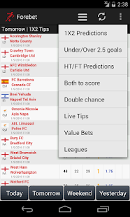 Football Predictions Forebet - náhled
