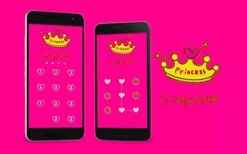 Applock Theme princess 2 - náhled