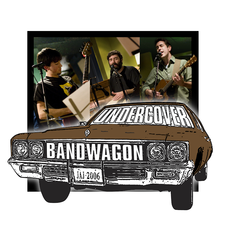 Logo for Live Music - Undercover Bandwagon