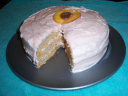 SOUTHERN BELLE PEACH CAKE Recipe