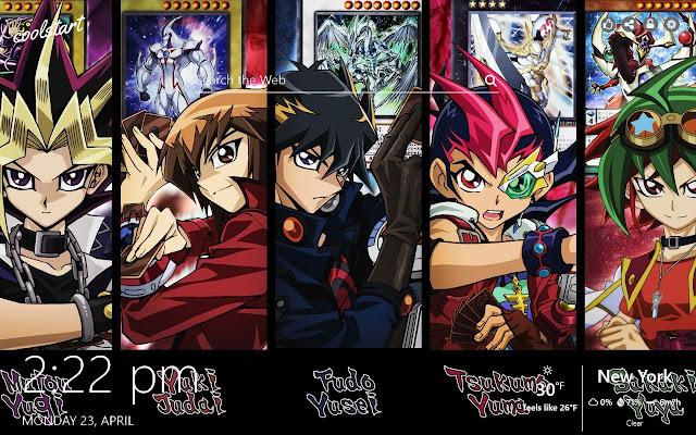 Yu-Gi-Oh! HD Wallpapers Anime New Tab Theme