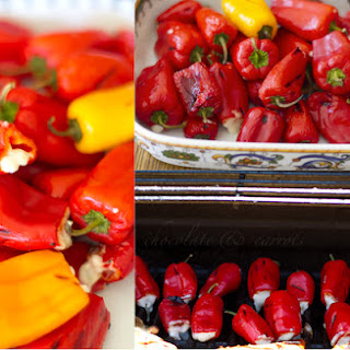 Spicy Stuffed Sweet Peppers.