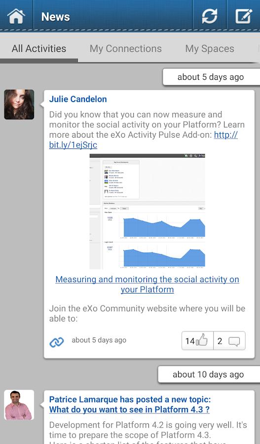 eXo- screenshot