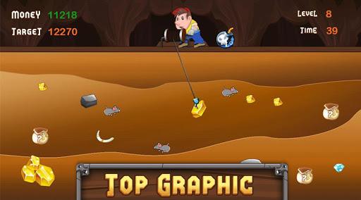 Télécharger Gold Miner APK MOD (Astuce) screenshots 3