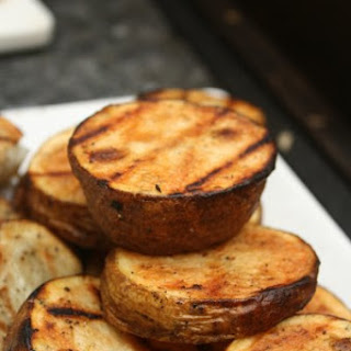 Grilled Potatoes.