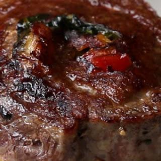 Veggie-Stuffed Steak Rolls.