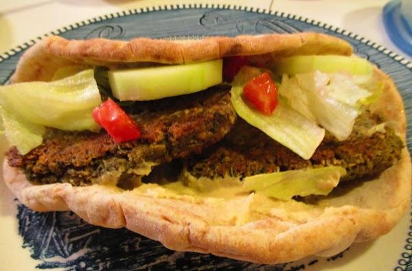 Falafel Pita Wraps Recipe