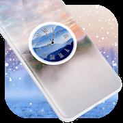 Mist Clock Live Wallpaper