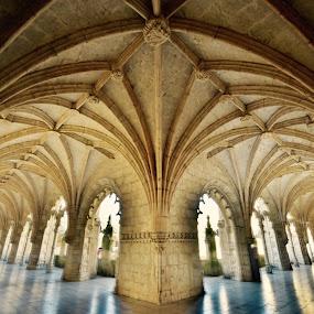 Jerónimos Monastery by Darijan Mihajlovic - Buildings & Architecture Places of Worship (  )