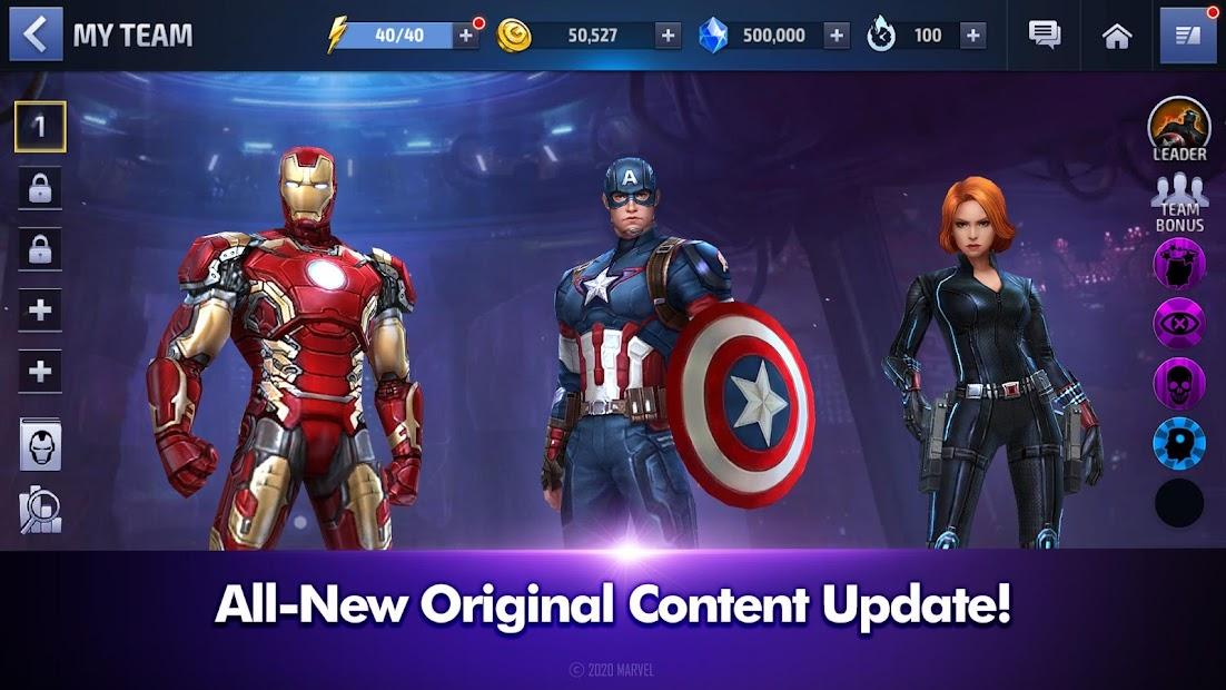 MARVEL Future Fight Android App Screenshot