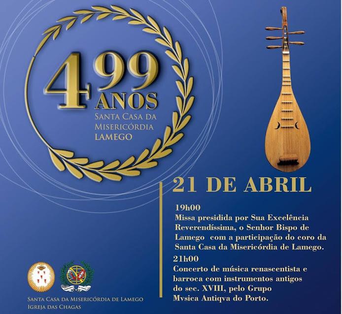 Recital de música antiga celebra aniversário da Misericórdia de Lamego