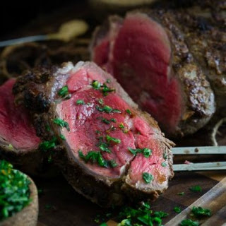 Balsamic Dijon Crusted Beef Tenderloin
