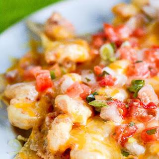 Tijuana Shrimp Dip Nachos.