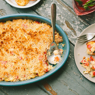 Crab Dip With Garlicky Gougères