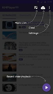 PRO-Video player KM, HD 4K Perfect Player-MOV, AVI v2.3.2 [Paid] APK 4