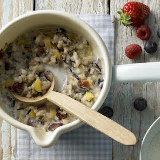 Wild Rice Breakfast Cereal.