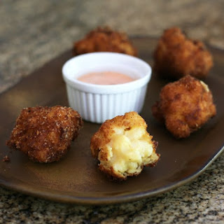 Macaroni and Cheese Fritters Recipe