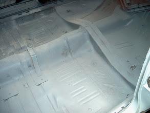 Photo: solid floor pans