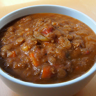 Hearty Tomato Lentil Soup