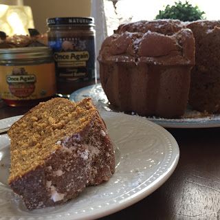 Pumpkin Almond Bundt Cake.