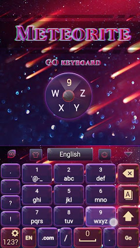 無料个人化AppのMeteorite Emoji Keyboard Theme|HotApp4Game