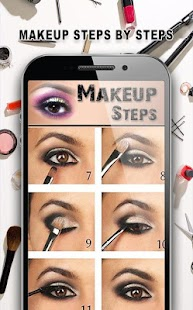 Makeup Steps By Steps For Beginners(face-eye-lip.) - náhled