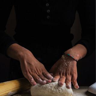 Easy Vegan Pasta Dough.