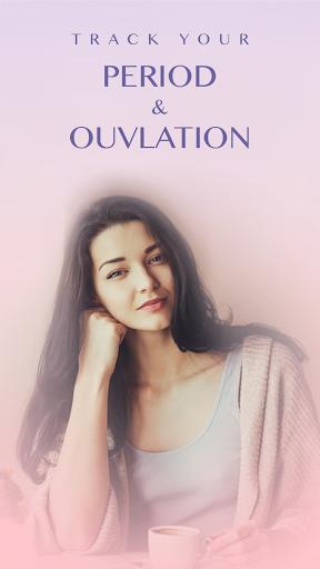 Period Tracker - Ovulation & Pregnancy Calendar screenshot 1