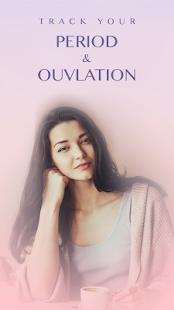 Period Tracker - Ovulation tracker & Fertility app - náhled