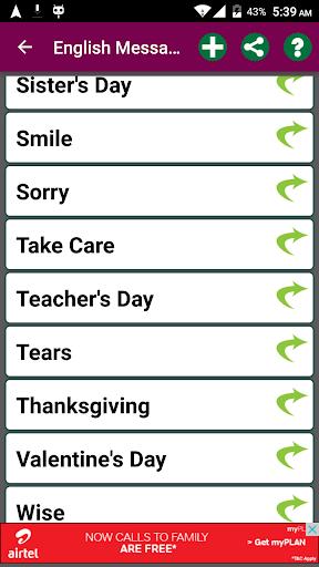 Messages For Whatsapp 5.14 screenshots 3