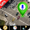 Live Satellite Maps Traffic & GPS Voice Navigation icon