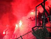 📷 Les supporters croates ont mis le feu au stade de Genk