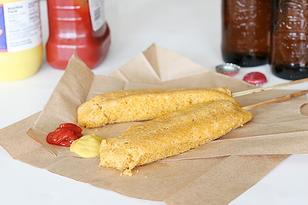 Oven Baked Corn Dogs (weight Watchers) Recipe