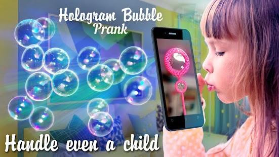 Hologram Bubble Prank - náhled
