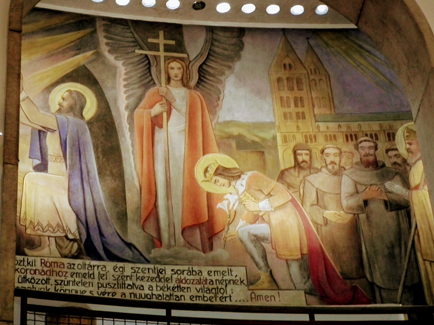 Pécs - Gázi Kászim pasa egykori dzsámija (Belvárosi Gyertyaszentelő Boldogasszony rk. templom)
