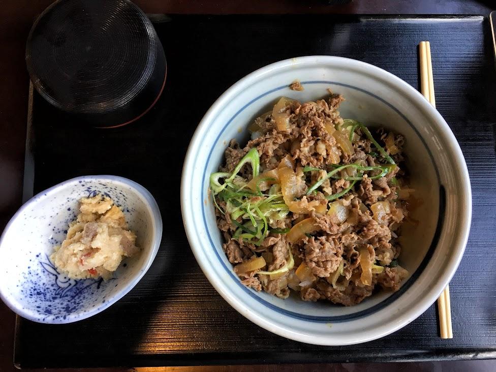 japońskie potrawy, Gyudon