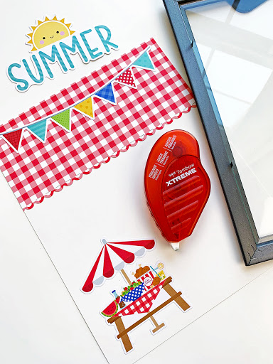 Easy Summer Dry Erase Board Made in Minutes