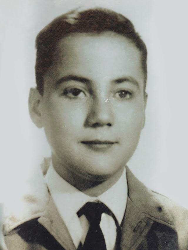 El creador de Silestone durante su niñez.