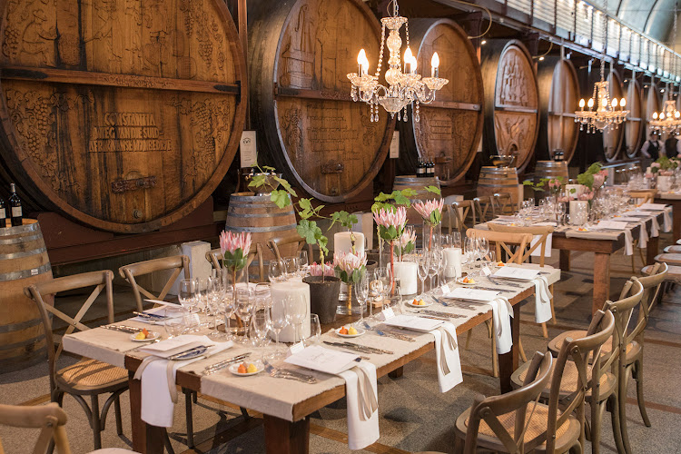 Mynhardt's Kitchen at the KWV Cathedral Cellar
