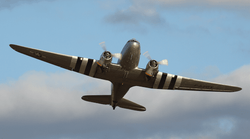 DC3 F-AZOX - Air Legend - Paris Villaroche